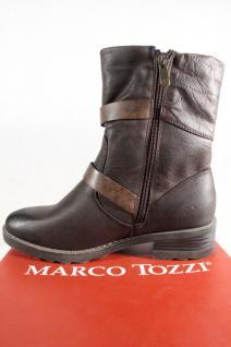 Marco Tozzi Stiefel, Stiefelette, braun, NEU!! warm gefüttert, RV 26432 NEU!! braun, 51485a