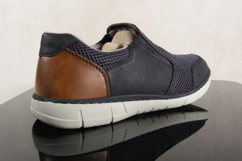Rieker Herren blau Slipper Sneakers Halbschuhe 15850 blau Herren NEU 65af82