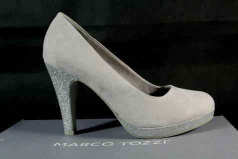 Marco Tozzi Pumps Ballerina Slipper grau 22441 NEU! - Vorschau 2