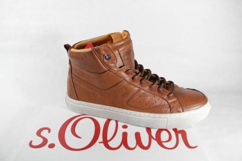 S.Oliver Stiefel braun, zum Schnüren, braun, Stiefel Textilfutter, Gummisohle NEU 13160c