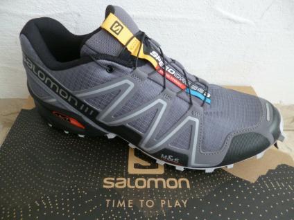 Salomon Sportschuhe Halbschuhe Sneakers Speedcross grau Neu!!!