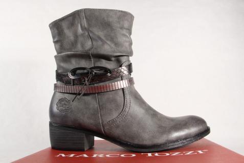 Marco Tozzi Stiefel Damen Stiefel Stiefeletten Schnürstiefel, Stiefel Tozzi grau 25316 NEU! 65ece3