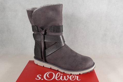S.Oliver Winterstiefel Damen Stiefel, Stiefelette, Stiefel Winterstiefel S.Oliver anthrazit 26481 NEU! a46a6d