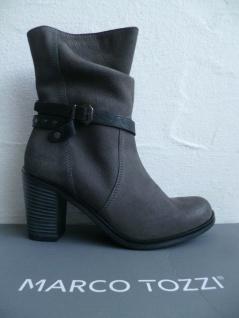 Marco Tozzi Stiefel Stiefelette Stiefeletten Boots Winterstiefel grau 25383 NEU!