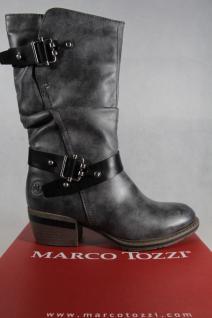 Marco Tozzi gefüttert, Stiefel, Stiefelette, Stiefel, grau, gefüttert, Tozzi RV NEU! 6c619b