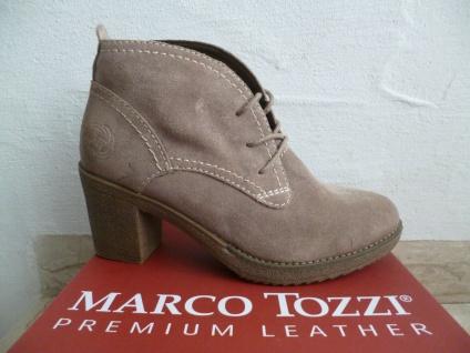 Marco Tozzi Damen Stiefeletten Schnürstiefel Stiefel Boots pfeffer NEU!
