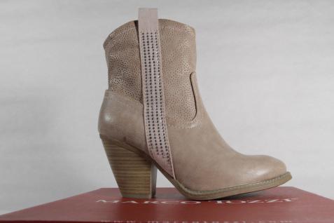 Marco Tozzi Stiefel, Stiefeletten, Boots NEU! Kunstleder beige, Reißverschluss NEU! Boots 60ada6