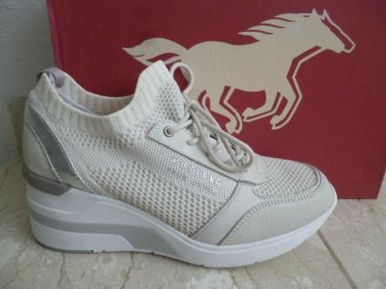 Mustang Sneaker Sneakers Slipper Slippers Sportschuhe beige 1303 NEU!
