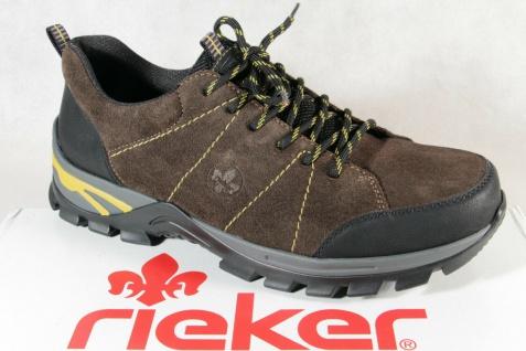 Rieker Sneaker Sneakers Schnürschuhe Slipper Halbschuhe braun Leder B6820 NEU!!