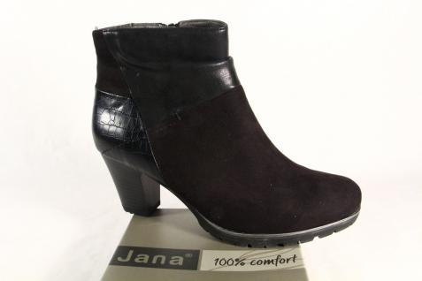 Jana Stiefel, Softline Damen Stiefelette, Stiefel, Jana Stiefel schwarz 25374 NEU 04d5b8