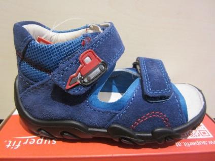 Superfit LL-Sandale blau KVLederfußbett Neu !!!