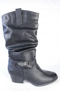 Marco Tozzi Damen Stiefel Stiefeletten schwarz, NEU! leicht gefüttert, RV, 25335 NEU! schwarz, f19ece