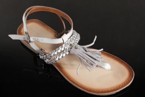 Marco Tozzi Sandale ZehenstegSandalee Sandalette Sandale Tozzi weiss 28129 NEU!! 6b4276