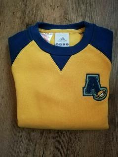 Adidas Jungen Sweatshirt Sweater gelb blau Pullover Pulli Sport NEU