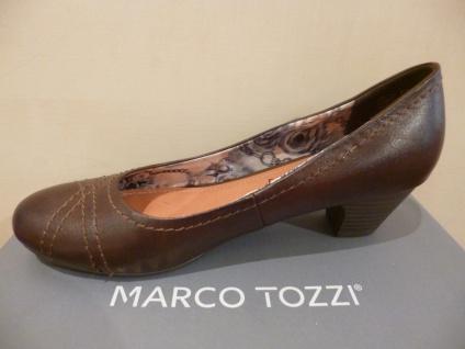 Marco Tozzi Pumps Slipper Ballerina braun 22307 NEU! - Vorschau 3