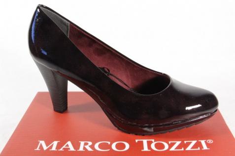 Marco Tozzi 22403 Pumps Slipper Trotteur bordeaux weiche Innensohle NEU!