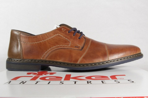 Rieker Herren Schnürschuhe, Schnürschuhe, Schnürschuhe, Halbschuhe Sneakers braun Leder 13421 NEU! Beliebte Schuhe ed9afa