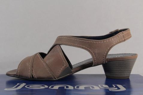 Jenny by Ara Sandalen NEU! Sandaletten Sling Echtleder grau NEU! Sandalen Beliebte Schuhe d16583