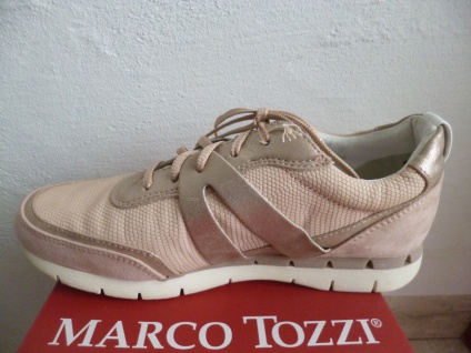 Marco Schnürschuh Tozzi Schnürschuh Marco Sneakers Halbschuhe rose NEU! d98f23