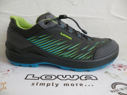 Lowa Sneakers ZIRROX Wanderschuhe Sportschuhe Sneakers Gore-Tex grau 640119 NEU