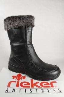 Rieker Z7190 Stiefel Siefeletten Boots, schwarz, gefüttert, Riekertex NEU