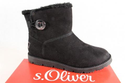 S.Oliver Damen Stiefel Stiefeletten Winterstiefel NEU! Stiefel schwarz 26412 NEU! Winterstiefel e48ab4