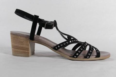 Rizzoli schmale Damen Sandale schwarz, weiche Lederinnensohle, schmale Rizzoli Form NEU!! Beliebte Schuhe 0c8d24