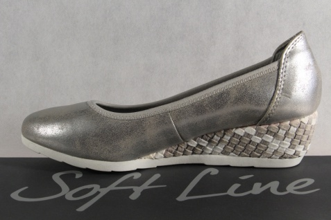 Soft Line Slipper by Jana Damen Pumps Slipper Line grau Weite H NEU! 38786d