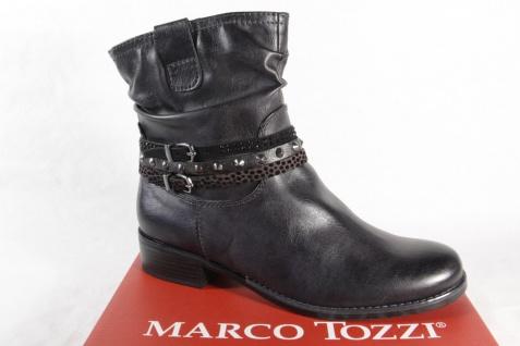 Marco Tozzi Stiefelette, 25364 Damen Stiefel, Stiefelette, Tozzi Stiefel schwarz/anthrazit NEU! 8b1181