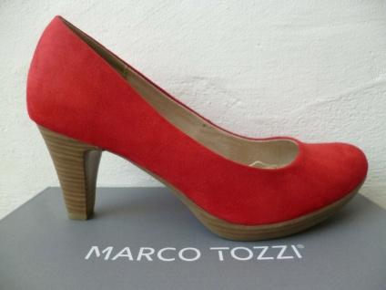 Marco Tozzi Pumps Ballerina Slipper rot NEU! - Vorschau 3