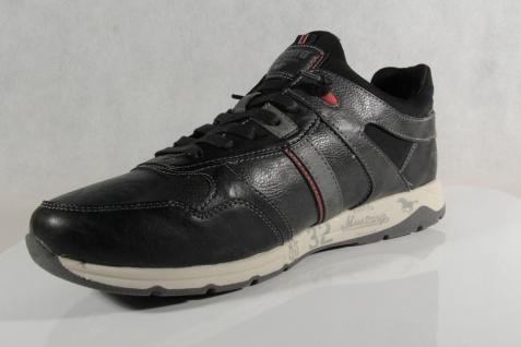 Mustang Schnürschuhe Sneaker, Halbschuhe Sportschuhe Slipper Gummisohle 4106 Neu - Vorschau 5
