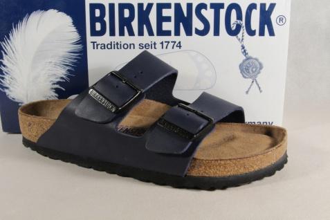 Birkenstock Pantolette Pantoletten Hausschuhe Pantoffel blau 051061 NEU!