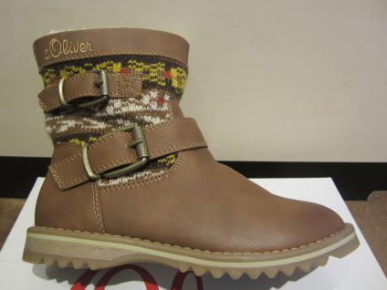 S.Oliver Stiefel, Reißverschluss braun, warm gefüttert, Reißverschluss Stiefel, NEU Beliebte Schuhe 30e8e2