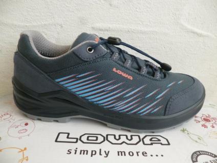 Lowa Sneakers ZIRROX Wanderschuhe Sportschuhe Sneakers Gore-Tex blau 640119 NEU
