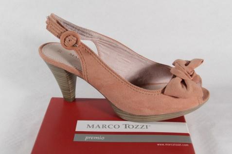 Marco Tozzi NEU!! Damen Sandale, rose, Gummisohle NEU!! Tozzi 935c7a