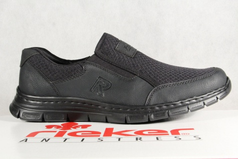 Rieker Slipper Halbschuhe, Sneaker schwarz, MemoSoft, B4873 NEU!! Beliebte Beliebte Beliebte Schuhe fc4744