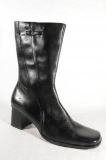 Damen Stiefel Stiefel Damen Stiefelette schwarz Echtleder Neu!!! c8eb33