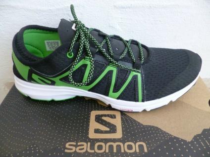 Salomon Crossamphibian Swift Sportschuhe Sneaker Sneakers schwarz/grün NEU!