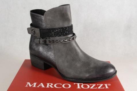 Marco Tozzi Reißverschluß Stiefelette Stiefel Reißverschluß Tozzi gefüttert 25306 NEU!! daa5fb
