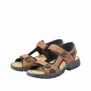 Rieker Sandale Sandalen Sandalette Sandaletten braun 26156 NEU
