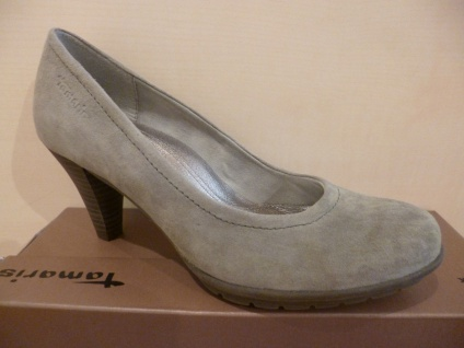 Damen Pumps Trotteur, Slipper, Trotteur, Pumps grau 22433 NEU! 2f9dd0
