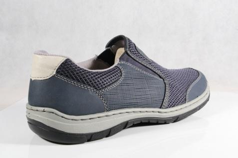 Rieker Halbschuhe Slipper Schnürschuhe blau Sneaker blau Schnürschuhe NEU!! f5ad3a