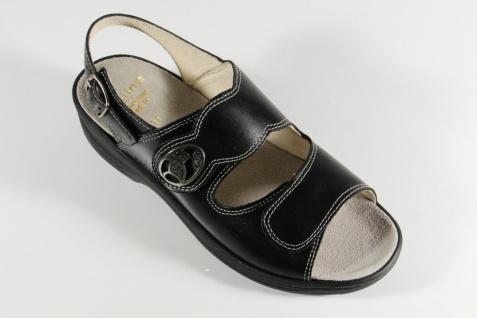 Fidelio Damen Sandale Sandalette schwarz Leder Lederfußbett NEU! Beliebte Beliebte Beliebte Schuhe 107c09