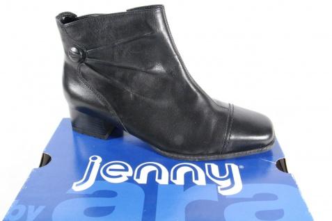 Jenny Reißverschluß, by Ara Stiefelette, schwarz, Reißverschluß, Jenny Weite H, 61850 NEU 736684