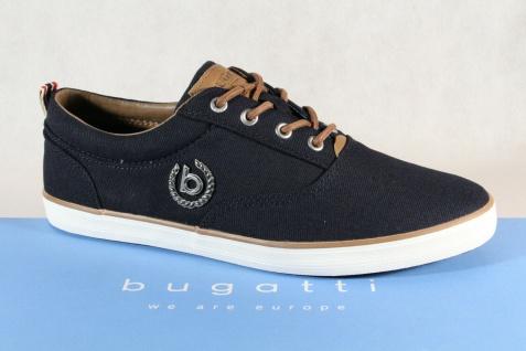 Bugatti Herren Bootschuhe Schnürschuh Schnürschuhe Halbschuhe Sneaker blau NEU!