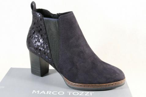Marco Tozzi Stiefelette Stiefeletten Stiefel blau 25358 NEU!