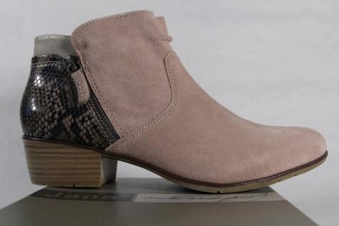 Jana Damen Stiefelette, Stiefel, Boots, , beige, RV Echtleder 25301 Schuhe NEU Beliebte Schuhe 25301 01beef