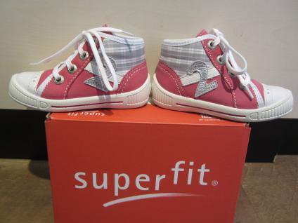 Superfit LL-Stiefel pink/weiss pink/weiss LL-Stiefel Lederfußbett Neu !!! 60d780