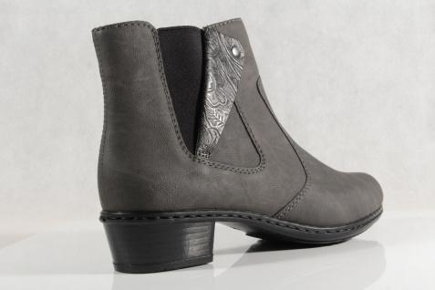 Rieker Damen Stiefel Stiefelette NEU! Stiefel grau Reißverschluß Y0741 NEU! Stiefelette 04c55f