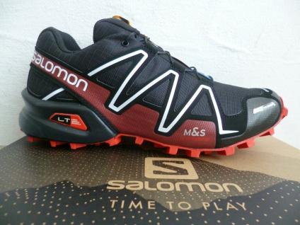 Salomon Spikecross 3 CS Sportschuhe Halbschuhe Sneakers schwarz rot Neu!!!